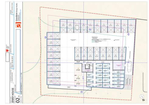 Jenny house di grendene design homify for 2 box auto gratuiti con piani di appartamenti