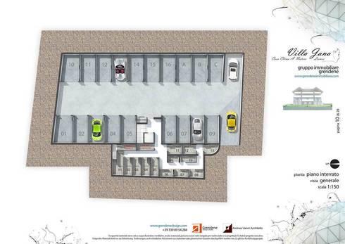 Villa jana di grendene design homify for Strumento di layout piano terra