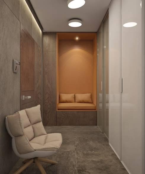 Apartment in Ekaterinburg: Коридор и прихожая в . Автор – E_interior