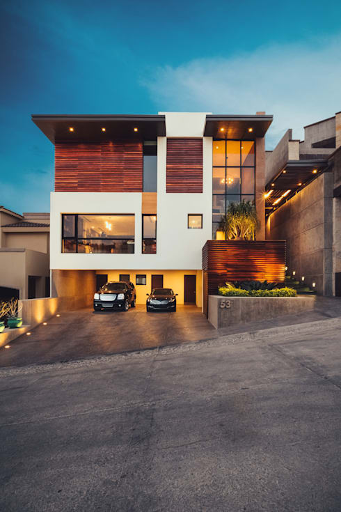 Residencia R53: Casas de estilo  por Imativa Arquitectos