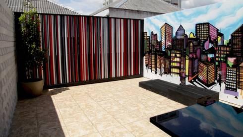 Estúdio Y: Espaços comerciais  por Kali Arquitetura