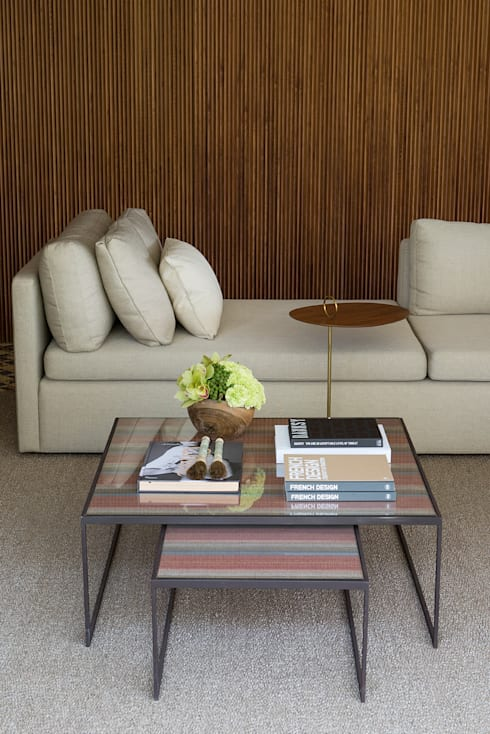 Casa Boa Vista : Sala de estar  por Triplex Arquitetura