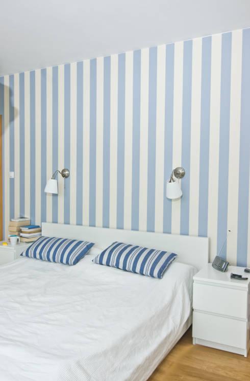 10 Schlafzimmer mit ordentlich Farbe