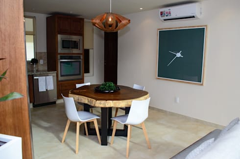 v177: Comedores de estilo moderno por DECO designers