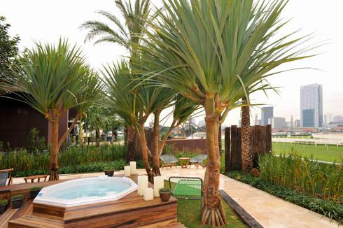 Jardim Casa Cor 2011: Jardins modernos por ricardo pessuto paisagismo