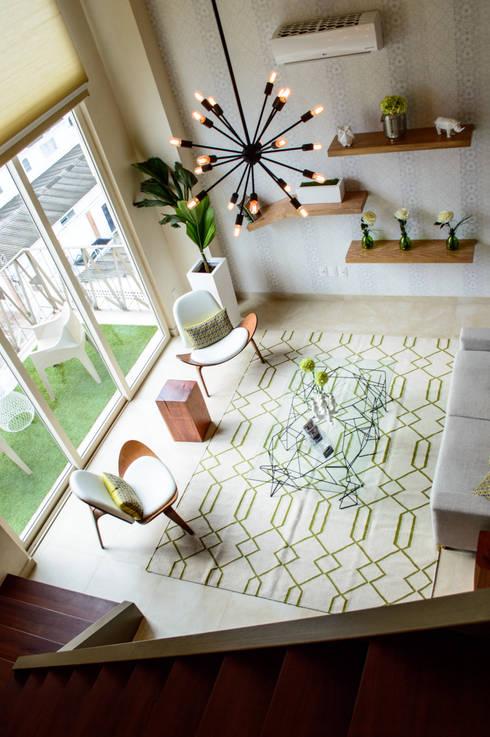 v177: Salas de estilo moderno por DECO designers