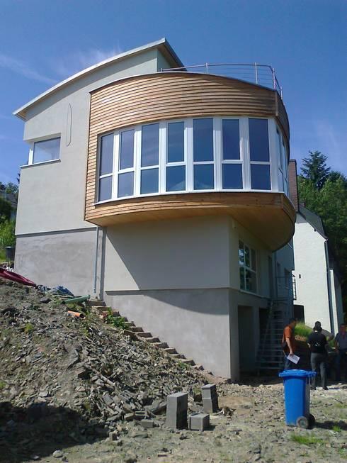 Ansicht 1 moderne häuser von laifer holzsysteme
