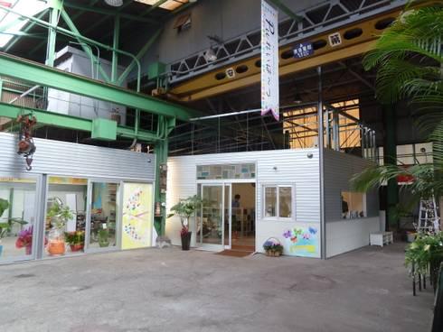 町工場をコンバージョンした美容院: アーテック・にしかわ/アーテック一級建築士事務所が手掛けた商業空間です。