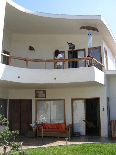 Casas de estilo mediterráneo por Cenquizqui