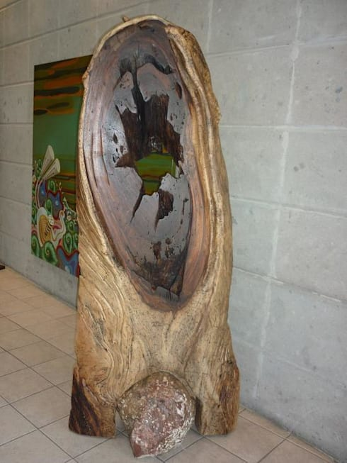 Escultura Orgánica : Tronco: Arte de estilo  por Cenquizqui