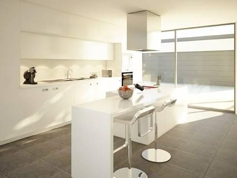 Evergreen: Cozinhas modernas por Imoproperty - Real Estate & Business Consulting
