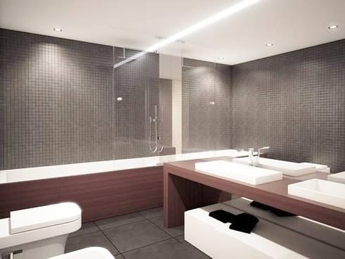 Evergreen: Casas de banho modernas por Imoproperty - Real Estate & Business Consulting
