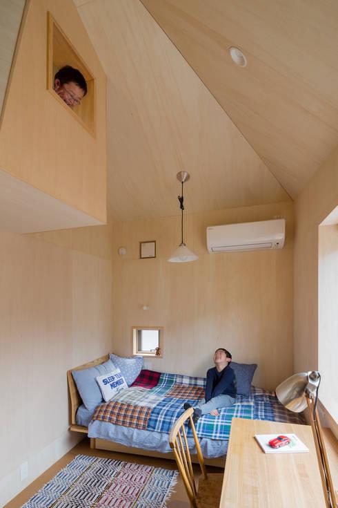 トンガリの家: 株式会社リオタデザインが手掛けた子供部屋です。