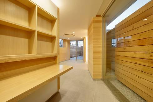 店舗: 仲摩邦彦建築設計事務所 / Nakama Kunihiko Architectsが手掛けたダイニングです。