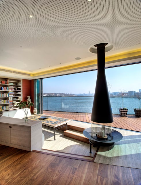 Salas / recibidores de estilo  por Designstudio K GmbH