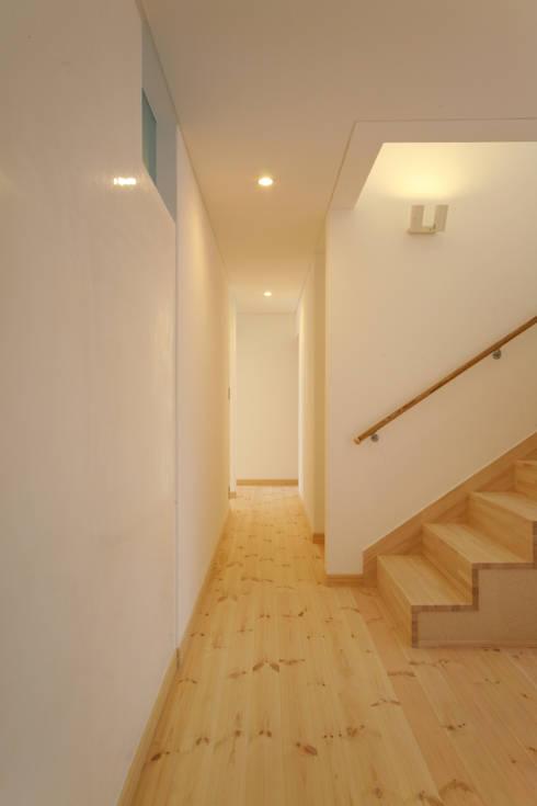 壁仕上げ: 篠田 望デザイン一級建築士事務所が手掛けた壁です。
