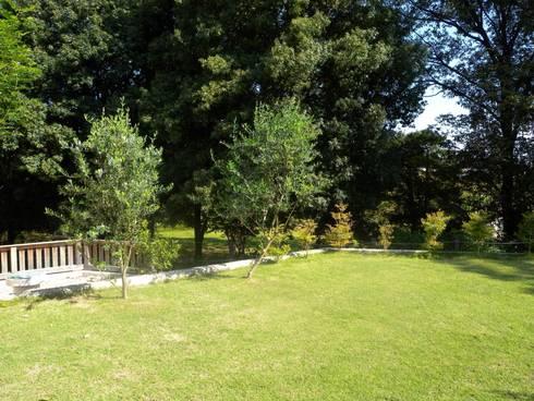 四季の色: 篠田 望デザイン一級建築士事務所が手掛けた庭です。