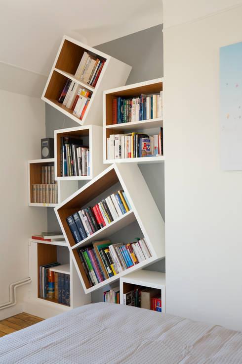 Bibliothèque: Chambre de style de style Moderne par ATELIER FB