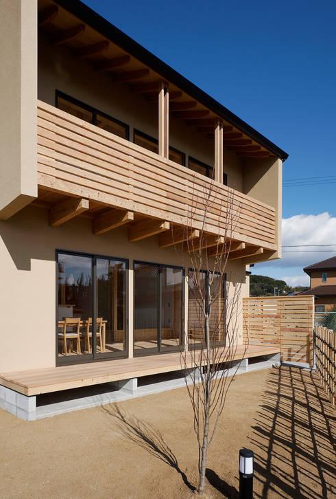 外観: 芦田成人建築設計事務所が手掛けた家です。