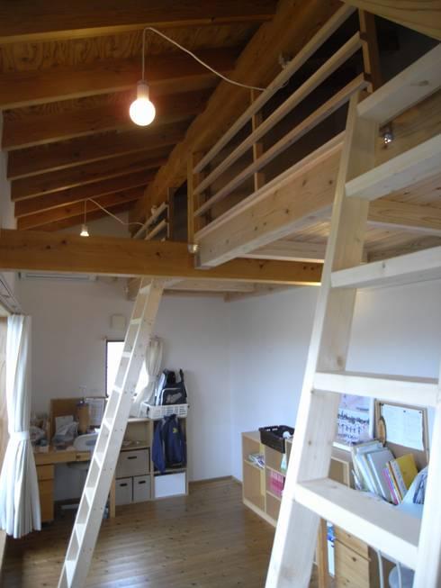 7年後の子供部屋: 芦田成人建築設計事務所が手掛けた子供部屋です。