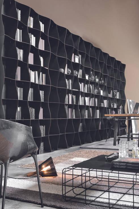Salones de estilo industrial de Ronda Design