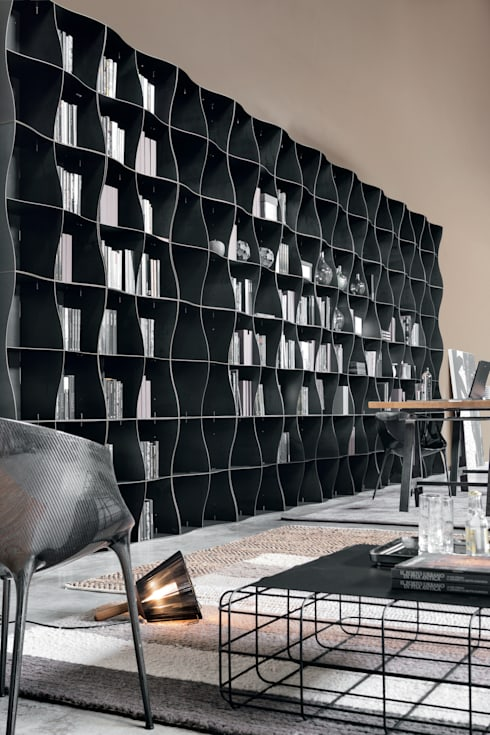 Livings de estilo  por Ronda Design
