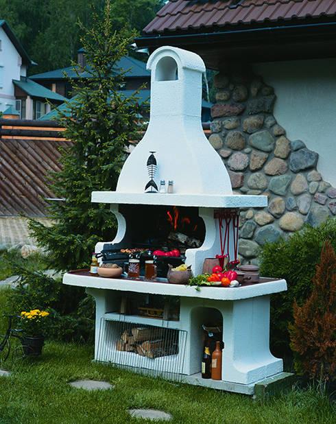 Projekty,  Ogród zaprojektowane przez Barbecue
