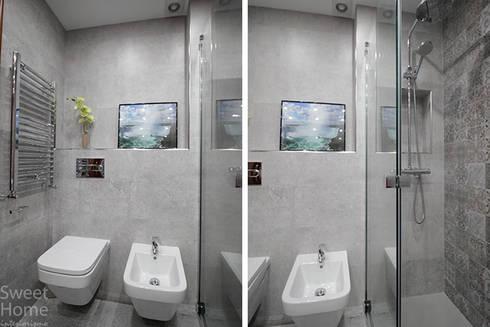 Baño en Sarriko, Bilbao: Baños de estilo moderno de Sweet Home Interiorismo