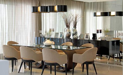 JANTAR: Salas de jantar clássicas por ALME ARQUITETURA