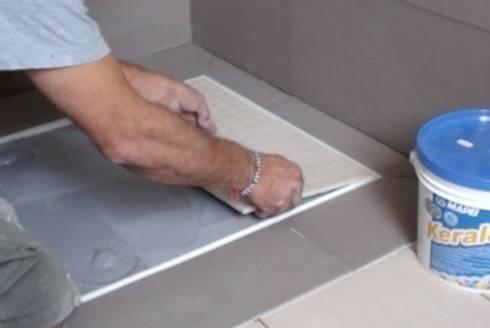Awesome piatti doccia filo pavimento rivestiti in e resine with piatto doccia da rivestire - Rivestire piatto doccia ...