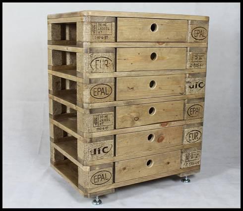 kommode aus europaletten von refactura homify. Black Bedroom Furniture Sets. Home Design Ideas