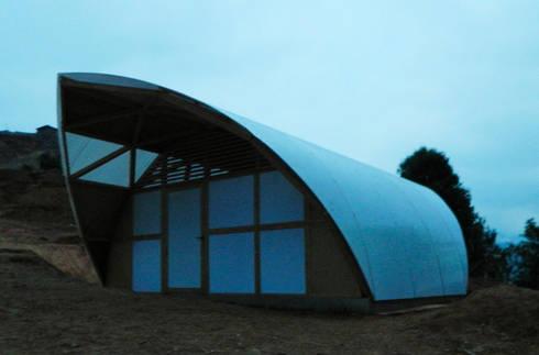 CASA MI prototipo terminado: Casas de estilo rural por COOP