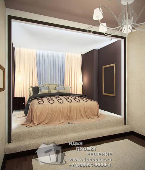 Дизайн интерьера спальни в светлых тонах: Спальни в . Автор – Бюро домашних интерьеров