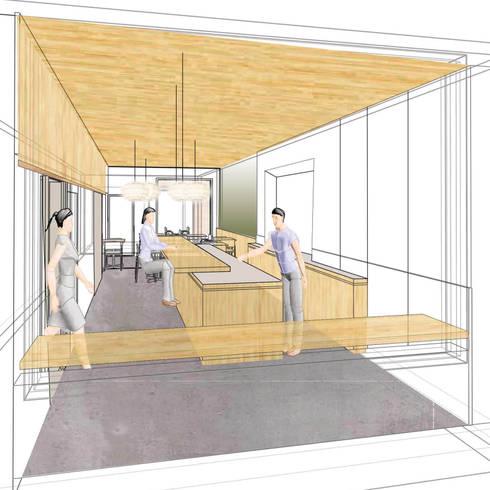Interieur concept Sushi bar door Studio evo | homify
