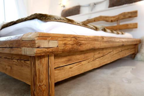 Bett Aus Altholz Bett Bauen Aus Altholz Die Neuesten