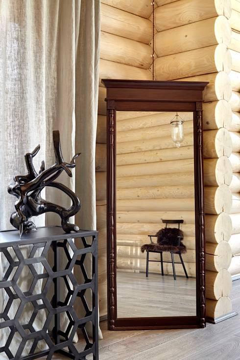 Livings de estilo rústico por Lavka-design дизайн бюро