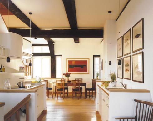 Blick Auf Küche Und Essplatz