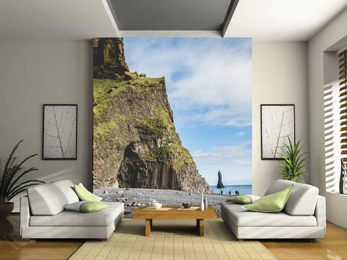 Fotomurales para salas : Salas de estilo moderno por MUA