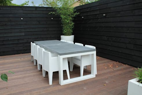 Beton Tafel Buiten : Betonnen tafel bari steel & concrete von ardworks bv homify