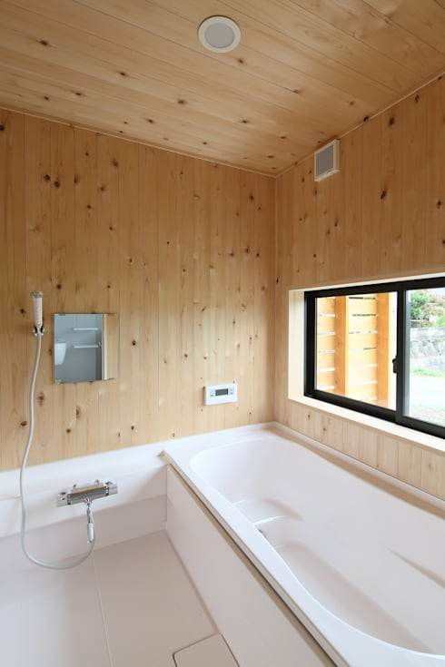 浴室: 芦田成人建築設計事務所が手掛けた浴室です。