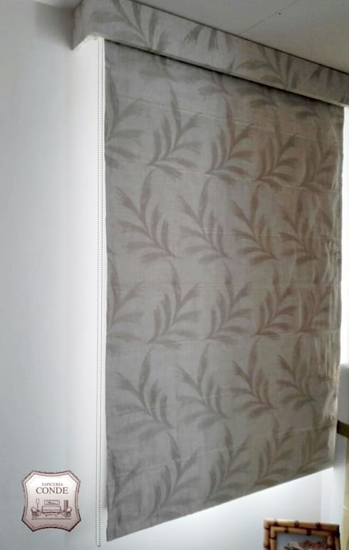 Confecci n de estores y cortinas by tapicer a conde homify for Confeccion cortinas