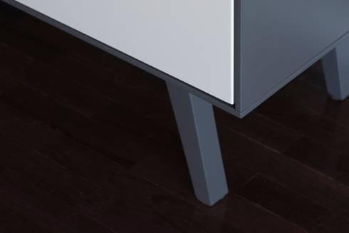 PH-1 da MO-OW: Salas de estar minimalistas por MO-OW design .  ângela frias e gonçalo dias arquitectos lda