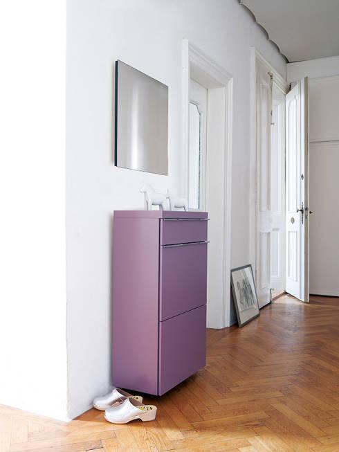Basic Schuhschrank:  Flur, Diele & Treppenhaus von Zimmermanns Kreatives Wohnen