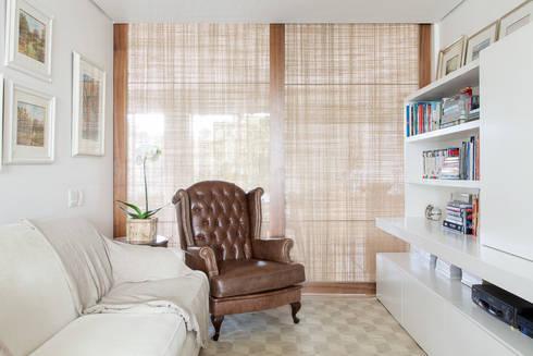 mmagalhães estúdio_Apartamento Parque: Salas de estar modernas por mmagalhães estúdio