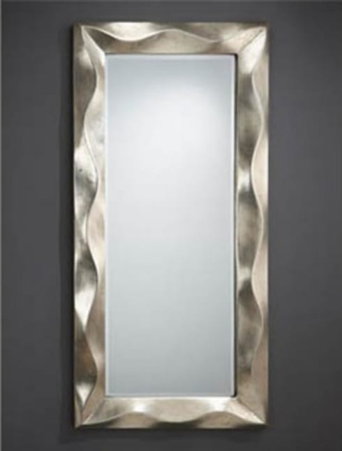 Espejos decorativos modernos de decoracion gimenez homify for Espejo ovalado plata