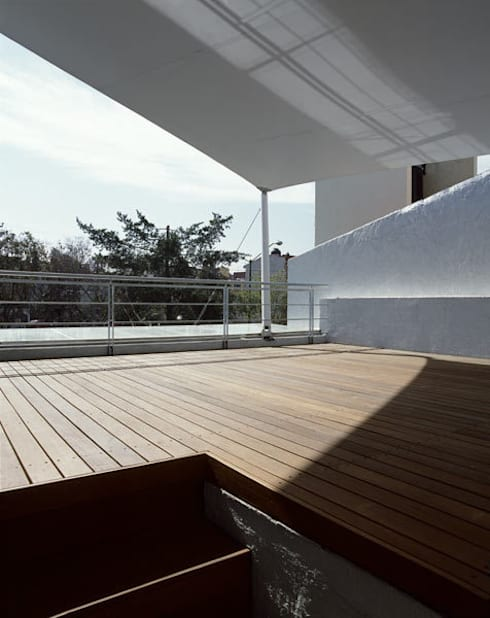B221: Terrazas de estilo  por Micheas Arquitectos