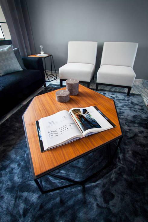 modern Living room by Concepto Taller de Arquitectura