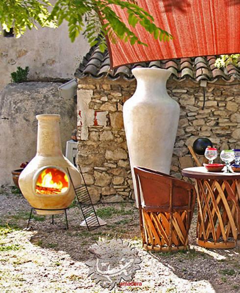 Barbecue et ambiance jardin: Jardin de style de style eclectique par amadera