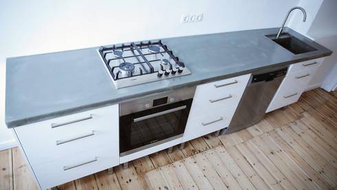 Küchenarbeitsplatten Beton küchenarbeitsplatten aus glasfaser beton betonwerkstatt homify