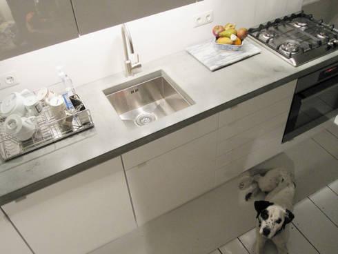 Küchenarbeitsplatte betonoptik  Küchenarbeitsplatten aus Glasfaser - Beton von Betonwerkstatt | homify